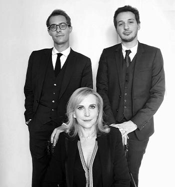 Equipe du cabinet : Gauthier LECOCQ, Janine Bonaggiunta et Harold MECHICHE